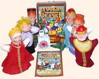 """Детский кукольный театр """"По-щучьему велению"""" (8 персонажей)"""