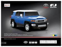 Дет. машина радиоупр.  Toyota FJ Cruiser  1:66
