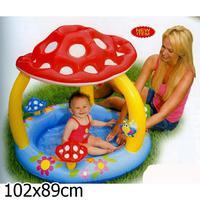 Детский бассейн надувной для малышей Гриб.