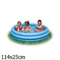 Круглый надувной бассейн