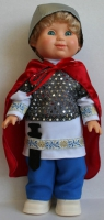 Кукла Русский богатырь