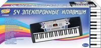 Синтезатор (пианино электронное), 54 клавиши,  88см (220V) D-00008