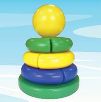 """Дет. пирамидка """"Логика"""" (шар)"""
