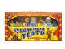 Детский кукольный театр 7 персонажей с декорациями и сценой