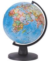 Глобус географический+политический d-160мм