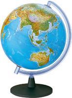 Глобус географический+политический d-250мм с подсветкой