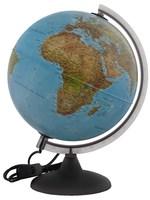 Глобус с подсветкой географический+политический d-250мм