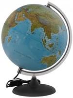 Глобус географический+политический d-260мм с подсветкой
