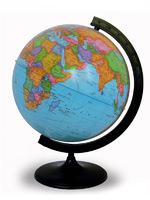 Глобус политический d-320мм круглая подставка