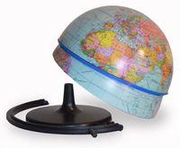 Глобус физический сборно-разборный d-210мм круглая подставка