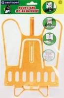 Подставка для книг пластиковая желтая