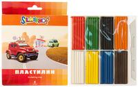 """Пластилин """"HAPPY CARS"""" 8 цв."""