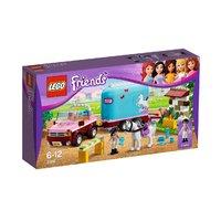 """Конструктор детский Friends (Френдс)  """"Эмма и трейлер для её лошадки"""" 3186"""