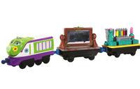 Паровозик Коко в двумя вагончиками
