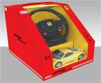 Дет. машина радиоупр. Ferrari 458 Italia 1:18  (с рулем управления)
