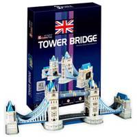 """Пазл объёмный """"Тауэрский мост. Великобритания"""" (41 элемент)"""