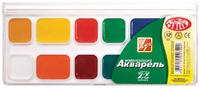 Медовая акварель ZOO (МИНИ) 12 цв. без кисти пластиковая упаковка