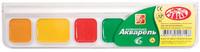 Медовая акварель ZOO (МИНИ) 6 цв. без кисти пластиковая упаковка