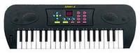 Синтезатор черный 37 клавиш с дисплеем эл/мех