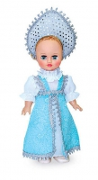 Кукла Аленушка 5 со звуковым устройством 35,5 см (пластмассовая)