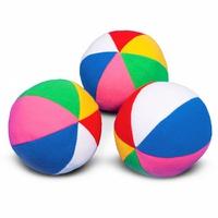 Мяч с погремушкой «Радуга»