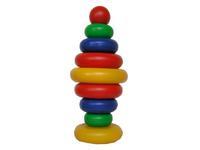 Дет. пирамидкаРадуга - 8 шар