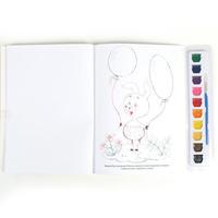 """Раскраска """"УМКА"""" с цветным контуром и красками. Винни-пух"""