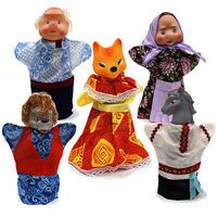 """Детский кукольный театр """"Битый небитого везет"""" (5 персонажей)"""