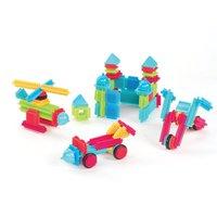 Конструктор детский игольчатый (112 дет., упаковка - коробка)