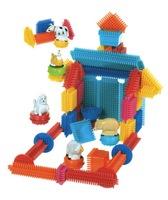 Конструктор детский игольчатый (113 дет., упаковка - чемоданчик)