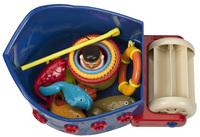 """Кораблик с игрушками для ванны """"Fish & Squish"""""""