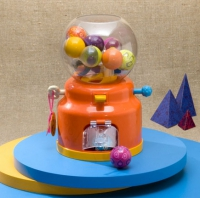 Лототрон с шариками-погремушками