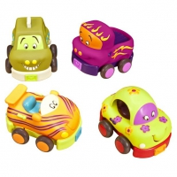 Набор детскийиз 4-х игрушечных машинок «Wheeee-Is»