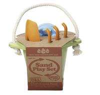 Набор детский для песочницы зеленый (Green toys)