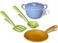 Набор детскийкухонной посуды (Green toys)