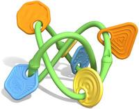 Детский прорезыватель-погремушка (Green toys)
