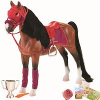 Дет. лошадь для куклы ( Американская Чистокровная)
