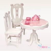 """Набор детский""""Стол и два стула"""" для куклы 46 см"""