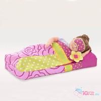 Надувной спальный мешок для куклы