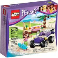 """Конструктор детский Friends (Френдс)  """"Пляжный автомобиль Оливии"""" 41010"""
