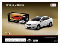 Дет. машина радиоупр.  Toyota Corolla 1:24