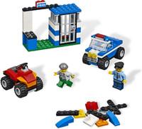 """Конструктор детский Creator (Криэйтор) """"Строительный набор Полиция BUILD REBUILD"""" 4636"""