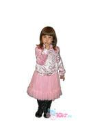 Детский комплект одежды (юбка, кофта, футболка, лосины)