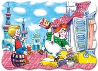 "Пазл детский ""Миди ""Карлсон""  Прогулка на крыше "" 30 элементов"