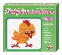 Набор детский для вышивания Цыпленок