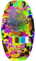 Набор детский для живописи №1 (3 витража + краски)