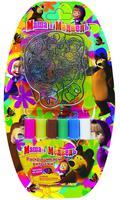Набор детский для живописи №2 (3 витража + краски)
