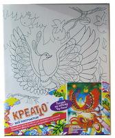 """Набор детский для росписи по холсту """"Жар-Птица"""""""