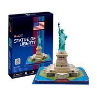 """Пазл объёмный """"Статуя Свободы. США"""" (39 элементов)"""