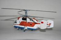 """Модели вертолетов для склеивания вертолет Спасатель """"Ка-27ПС"""""""